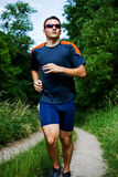 Jogging man 3 Royalty Free Stock Images
