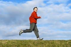 jogging man Στοκ Φωτογραφίες