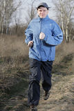 Jogging man Royalty Free Stock Photos