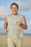 jogging man Στοκ Φωτογραφία