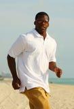 jogging man stylish Στοκ Φωτογραφία