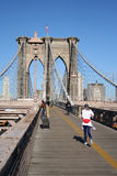 Jogging in New York Stock Photography