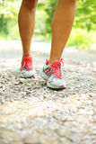 Jogging in park Royalty Free Stock Photo