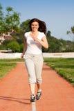 Jogging at park Royalty Free Stock Photo