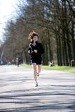 jogging park woman young Στοκ φωτογραφία με δικαίωμα ελεύθερης χρήσης