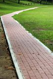 Jogging Path. A jogging path way at garden Stock Images