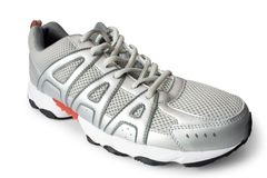Jogging shoe Stock Images