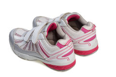 Jogging shoes Stock Photos