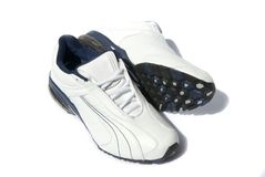 Jogging shoes Stock Images