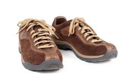 Jogging shoes. Isolated on white background stock photo