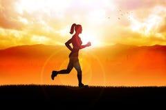 Jogging Royalty Free Stock Image