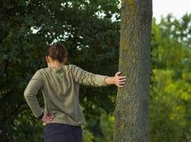 jogging streching Стоковое фото RF