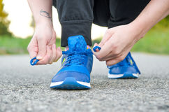 JOGGING TIME royalty free stock images