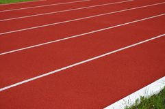 Jogging track surface Royalty Free Stock Photo