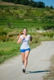 Jogging w naturze Zdjęcie Stock