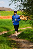 Jogging woman 1 Royalty Free Stock Photography