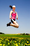 Jogging woman Royalty Free Stock Photography