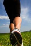 Jogging woman 2 stock image