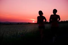 Jogging woman Stock Image