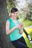 Jogging woman Stock Photos