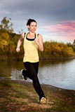 Jogging woman Royalty Free Stock Image