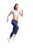 Jogging woman. Royalty Free Stock Photos