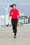Jogging woman Royalty Free Stock Photos