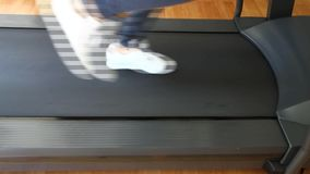 Jogging stock video