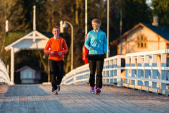Jogging women Royalty Free Stock Photos