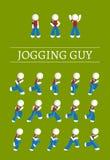 Joggingkerel Royalty-vrije Stock Foto's