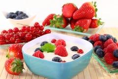 Joghurt Stockfotografie