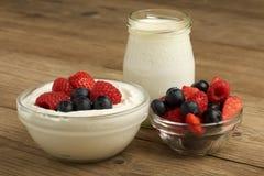 joghurt Lizenzfreie Stockbilder