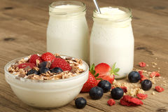 joghurt Lizenzfreies Stockfoto