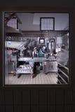 Joghurtproduktion lizenzfreie stockfotos