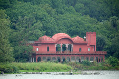 Jogi Mahal near Padma Talao in Ranthambore National Park Stock Photos