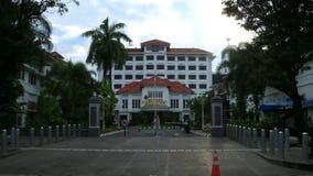 Grand Inna Hotel. Jogjakarta, Indonesia - February 6, 2018: Grand Inna Hotel at Malioboro street Royalty Free Stock Photography
