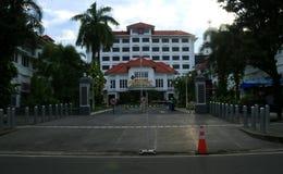 Grand Inna Hotel. Jogjakarta, Indonesia - February 6, 2018: Grand Inna Hotel at Malioboro street Stock Photos