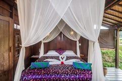 Joglo House Bedroom Royalty Free Stock Photo