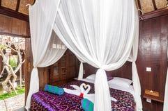 Joglo House Bedroom Stock Photo