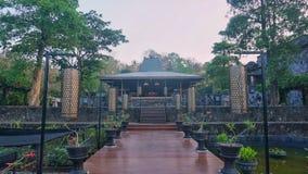 Joglo - una casa tradizionale dall'Indonesia Immagini Stock