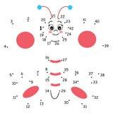 Jogo 148, a borboleta ilustração royalty free