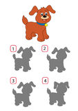 Jogo 156, o cão Imagem de Stock Royalty Free