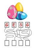 Jogo 71, os ovos Imagem de Stock