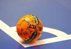 Jogo amigável de Futsal: Espanha de Ucrânia v em Kyiv, Ucrânia Fotos de Stock