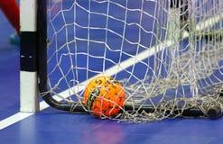 Jogo amigável de Futsal: Espanha de Ucrânia v em Kyiv, Ucrânia Imagens de Stock