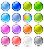 Jogo brilhante da esfera Fotos de Stock Royalty Free