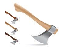 Jogo colorido do machado ou do machado do vetor Imagem de Stock Royalty Free