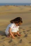Jogo com areia Fotos de Stock