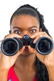 Jogo com binóculos Imagens de Stock Royalty Free