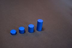 Jogo com formas Fotografia de Stock